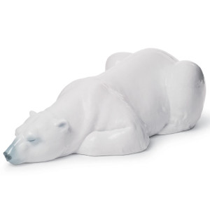 Lladro Porcelain Snow King Bear Figurine 01008413