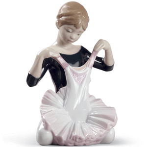 Lladro Porcelain My Debut Dress Ballet Girl Figurine 01008771