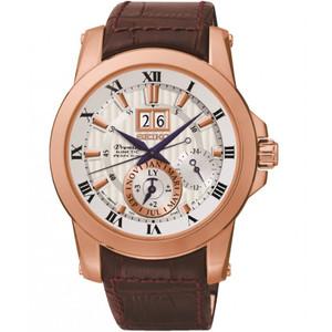 Seiko Premier Kinetic Perpetual Sapphire Crystal Watch SNP096P1