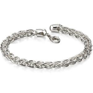 Fred Bennett Heavy Spiga Silver Medium Link 21cm Bracelet B4972