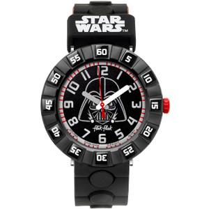 Flik Flak Star Wars Darth Vader Children's Quartz Black Dial Watch FFLP005
