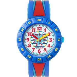 Flik Flak Wild Sailor Children's Quartz White Dial Watch FCSP052