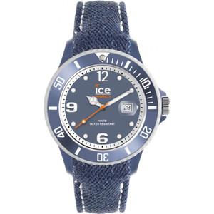 Ice-Watch Mens Ice-Denim Light Blue Big Denim Strap Watch DE.LBE.B.J.13