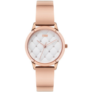 Storm Women's Enya Rose Gold Swarvoski Crystals Stainless-Steel Watch
