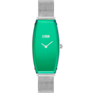 Storm Women's Suzi Lazer Green Stainless-Steel Mesh Strap Watch