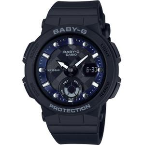 Baby-G Ladies Blue Dial Black Strap Analog-Digital LED Backlight Watch BGA-250-1AER