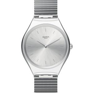 Swatch Skin Irony Skinpole Unisex Quartz Silver Dial Bracelet Watch SYXS103GG