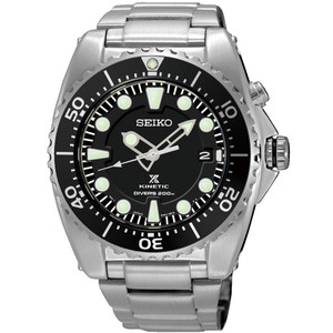 Seiko Prospex Diver's Kinetic Black Dial Watch SKA761P1