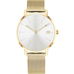 Tommy Hilfiger Women's Pippa White Dial Stainless-Steel Milanese Mesh Bracelet Watch 1781927