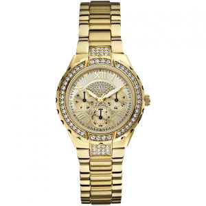 Guess Viva Ladies' Gold Watch W0111L2