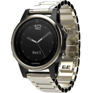 Garmin Fenix 5S Sapphire GPS Multi-Sport Multi-Sensor HR Bracelet Watch 010-01685-15
