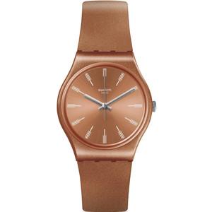 Swatch Original Gent Sandbaya Sand Dial Silicone Strap Watch GO118