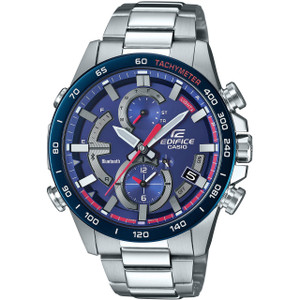 Casio Edifice Toro Rosso Limited Edition Bluetooth Tough Solar Blue Watch EQB-900TR-2AER