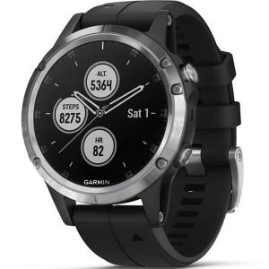 Garmin Fenix 5 Plus GPS Multi-Sport Multi-Sensor HR Music Black 47MM Smartwatch 010-01988-11