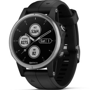 Garmin Fenix 5 Plus GPS Multi-Sport Multi-Sensor HR Music Black 42MM Smartwatch 010-01987-21