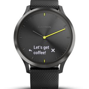Garmin Vivomove Heart Rate Black 43MM Hybrid Smartwatch 010-01850-01