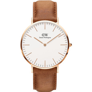 Daniel Wellington Men's Classic Durham Rose Gold Watch DW00100109