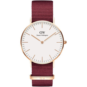 Daniel Wellington Unisex Classic Roselyn Eggshell White Dial Watch DW00100271