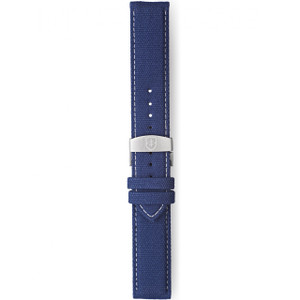 Elliot Brown 22mm Washed Blue Canvas Strap STR-C01