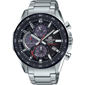 Casio Edifice Men's Chronograph Solar Powered Stainless-Steel Bracelet Watch EFS-S540DB-1AUEF