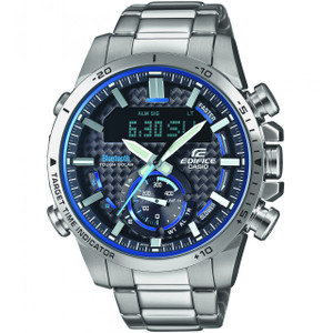 Casio Edifice Bluetooth Tough Solar Stainless-Steel Bracelet Watch ECB-800D-1AEF