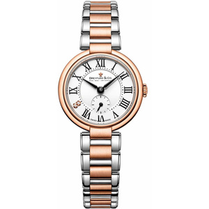 Dreyfuss & Co Women's 1974 Two Diamonds Two Tone Stainless-Steel Bracelet Watch DLB00159/01/L