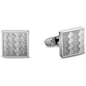 Tommy Hilfiger Fine Core Men's Silver Stainless-Steel Cufflinks 2701020