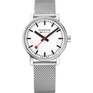 daine Evo2 Women's Quartz White Dial Mesh Bracelet Swiss Railways Watch MSE.35110.SM