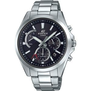 Casio Edifice Men's Solar Sapphire Chronograph Black Dial Bracelet Watch EFS-S530D-1AVUEF