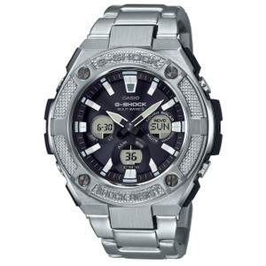 G-Shock G-Steel Solar Radio Controlled Watch GST-W330D-1AER