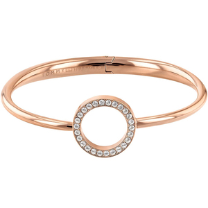 Tommy Hilfiger Ladies Dressed Up Rose Gold Open Circle Bangle 2780066