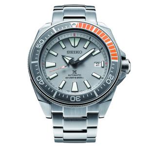 Seiko Prospex Samurai Dawn Grey Limited Edition Automatic Divers Men's Watch SRPD03K1