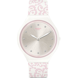 Swatch Skin Regular Skindentelle Pink Silicone Strap Watch SVOW102