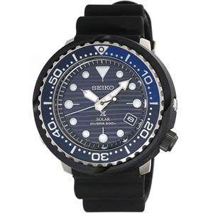 Seiko Prospex Save The Ocean Tuna Solar Blue Dial Watch SNE518P1