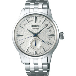 Seiko Presage Cocktail Fuyugeshiki Limited Edition Power Reserve Date Automatic Watch SSA385J1