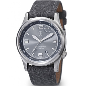 Elliot Brown Men's Tyneham Automatic Sapphire Grey Dial Watch 305-002-F01