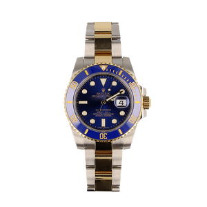 Pre-Owned Rolex Submariner With Oyster 18ct Gold & Steel Bracelet 116613LB