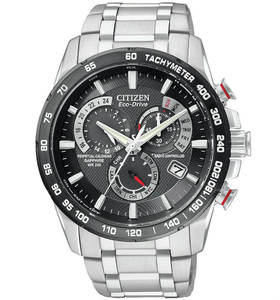 Citizen Radio Controlled Atomic Chronograph Watch AT4008-51E