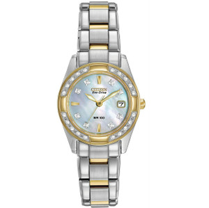 Citizen Ladies Diamond Eco-Drive Regent Watch EW1824-57D