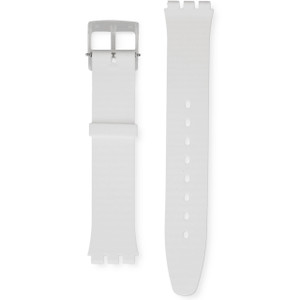 Swatch Watch Strap White Classiness 16mm Skin Collection ASFK360