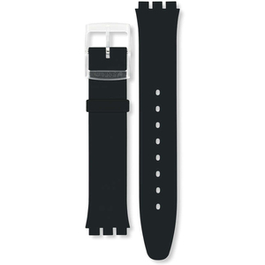 Swatch Skin Replacement Strap Black Classiness ASFK361