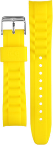 Ice-watch Replacement Strap Yellow With Free Pins