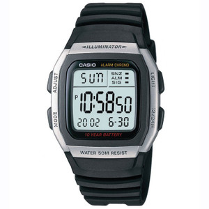 Casio Sports Leisure Chronograph Watch W-96H-1AVES