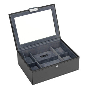 Stackers Watch Box For 8 Watches in Black 73223