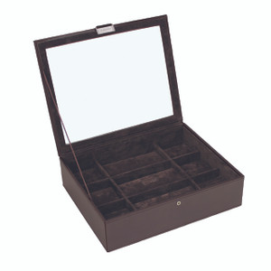 Stackers Watch Box For 15 Watches - Brown