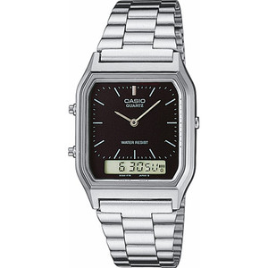Casio Classic Analogue Digital Silver Watch AQ-230A-1DMQYES