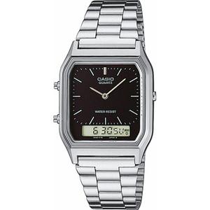 Casio Classic Analogue Digital Silver Watch AQ-230A-1DMQYES