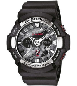 Casio G-Shock Men's Chronograph Watch GA-200-1AER