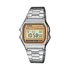 Casio Classic Vintage Digital Silver Watch A158WEA-9EF