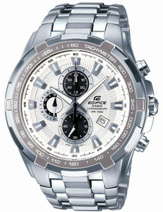 Casio Edifice Chronograph White Dial Watch EF-539D-7AVEF